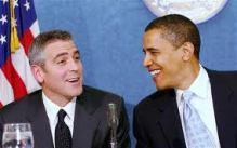 Clooney Obama