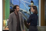 Paul Schneider and Emily Mortimer