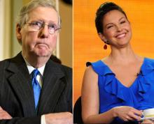 Ashley Judd Mitch McConnell
