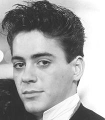 Robert Downey Jr young