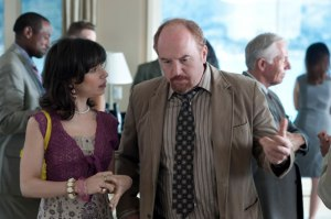"Sally Hawkins and Louis CK in ""Blue Jasmine"""